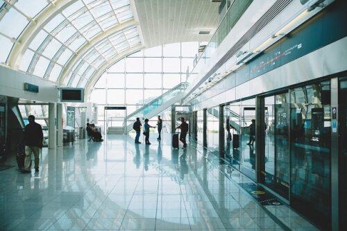 空港の屋内
