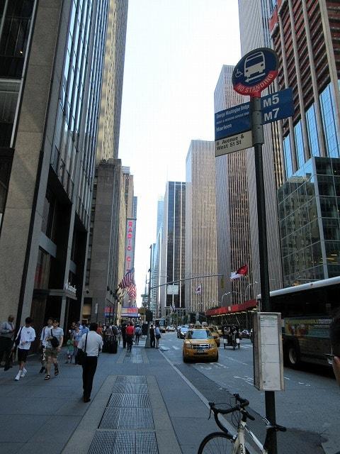 ニューヨークのストリートビュー