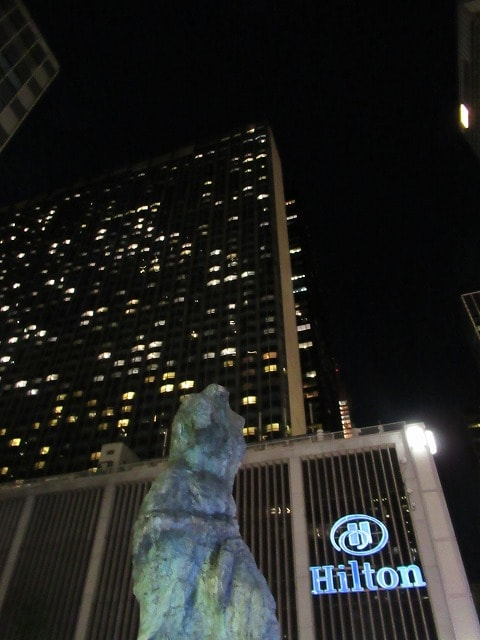 NYヒルトンミッドタウンの外観