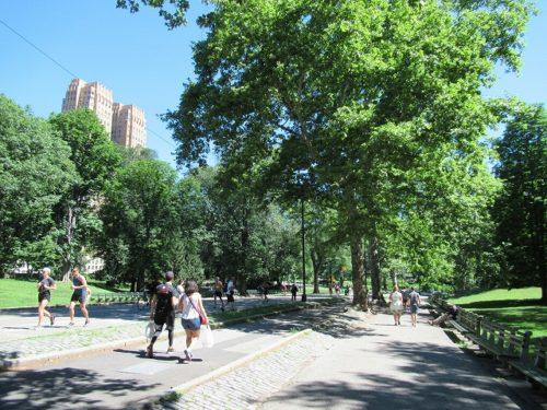 新緑の季節のセントラルパーク