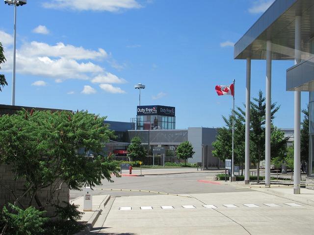 カナダとアメリカの国境
