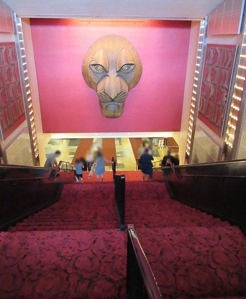 ミンスコフ劇場内にある大階段