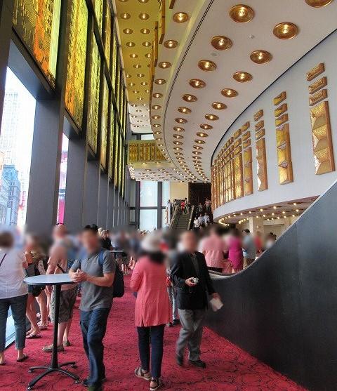 ミンスコフ劇場内のロビー