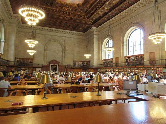 NYPLのRose Reading Room