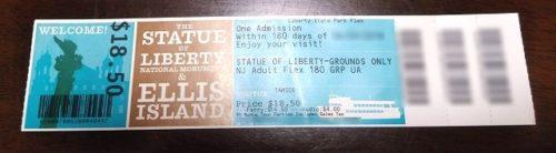 Statue Cruiseのチケット