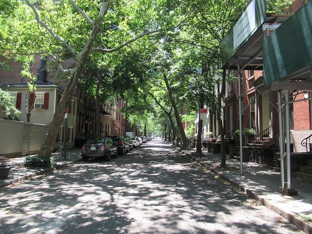 DUMBOのストリート