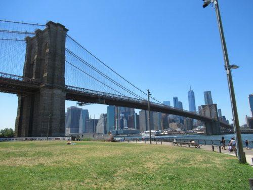 ブルックリンブリッジパークからの眺め