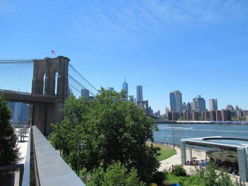 Empire Stores屋上からの眺め