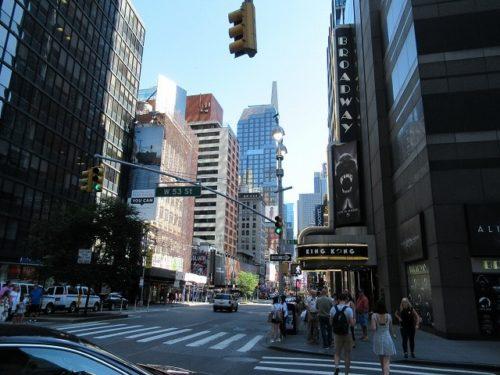 ニューヨークの通り