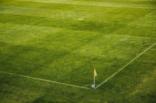 サッカーのコーナーエリア