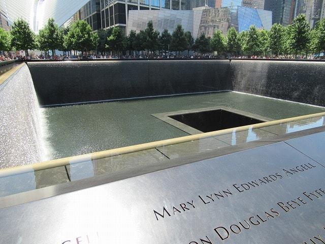 WTCメモリアルパークのノースプール