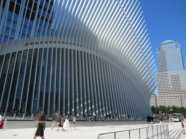 WTCのオキュラスの外観