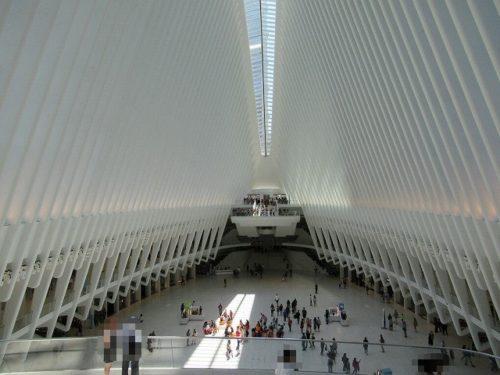 WTCオキュラスの内観全景
