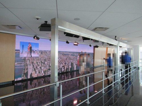ワンワールド展望台のデジタルフォトスポット