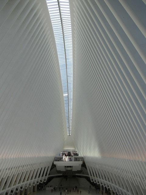 WTCオキュラスの内部全景