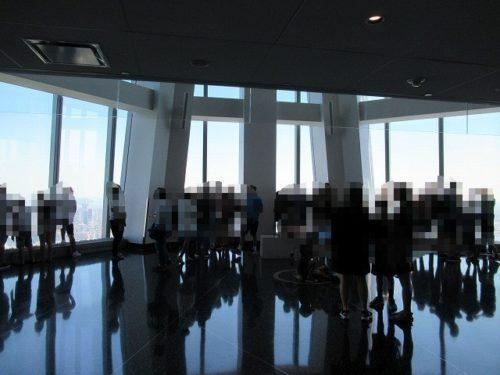 ワンワールド展望台のフロア