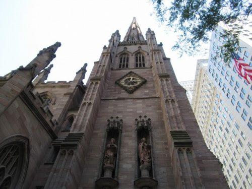 NYトリニティ教会の外観