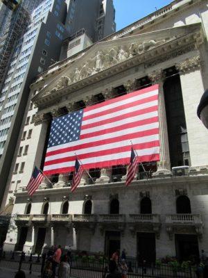 ニューヨーク証券取引所の外観