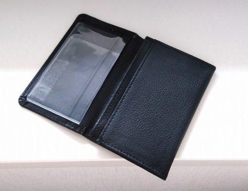 自作のメモ帳カバー