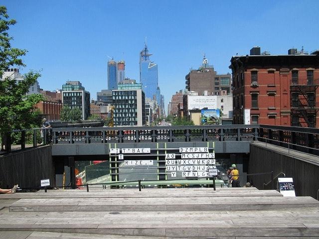 昼間のHigh Line Observation Deck