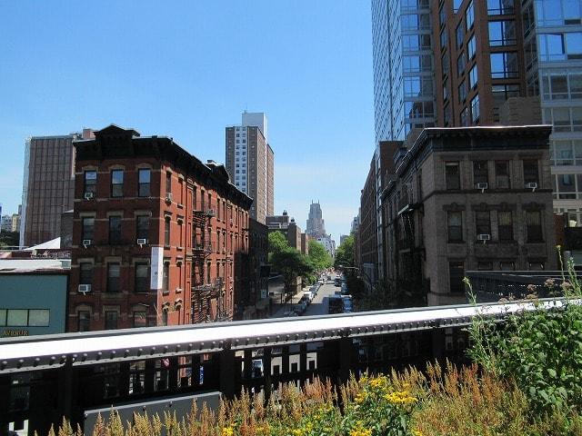 ハイラインから見える街の様子
