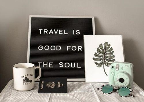 旅行は心にとって大切