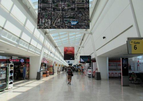 JFK空港の出国後エリア