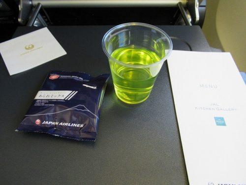 JAL機内の提供スナックとスカイタイム