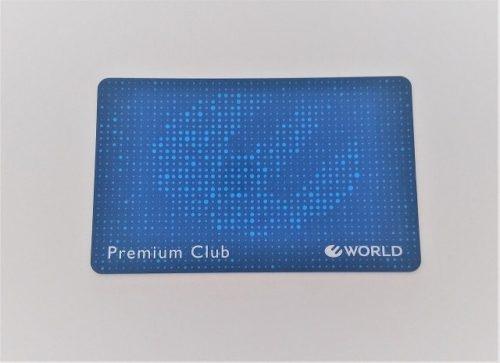 ワールドプレミアムクラブのカード
