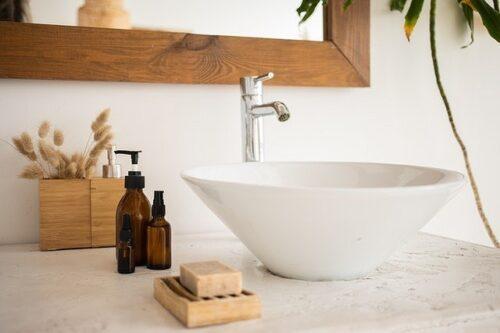 清潔感のあるおしゃれな洗面台